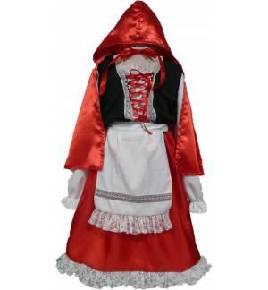 Αποκριάτικη Καρναβαλική Στολή Κοκκινοσκουφίτσα 1-8 ετών MARK549