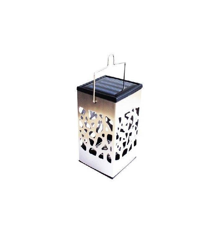POWERplus Ferret 3 in 1 Stainless Steel Solar Candle Light
