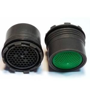 Ακροφύσιο Εξοικονόμησης Νερού PA16.5 με σπείρωμα βρύσης 7L/M ροή