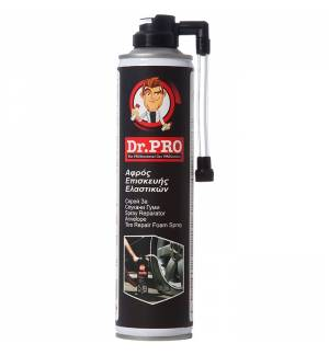 Dr. Pro Tire Repair Foam Spray 400ml Suitable for all conventional car tires