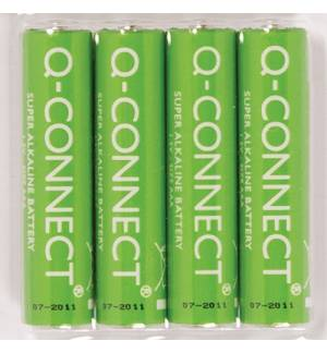 Set of 4 pcs. 1.5V Q-Connect Battery AAA Alkaline Batteries AAA