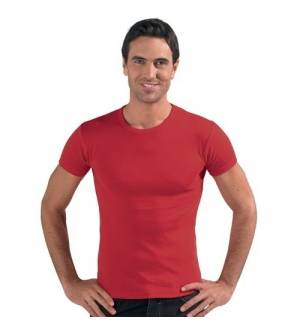 Sol's City OFFER 11230 MEN'S ROUND COLLAR CLOSE-FITTING T-SHIRT 100% semi-combed Ringspun cotton