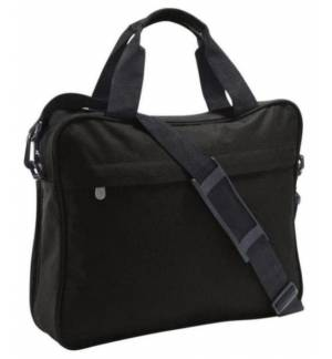 CORPORATE POLYESTER CONFERENCE COMPENDIUM MESSENGER BAG