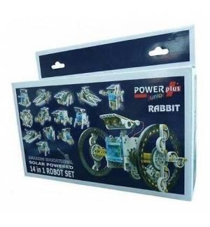 POWERplus Rabbit Ηλιακό Ρομπότ Σετ 14 σε 1 Οικολογικό Παιχνίδι