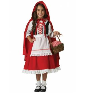 Carnival Halloween Costume kids little red riding hood 1-8 years