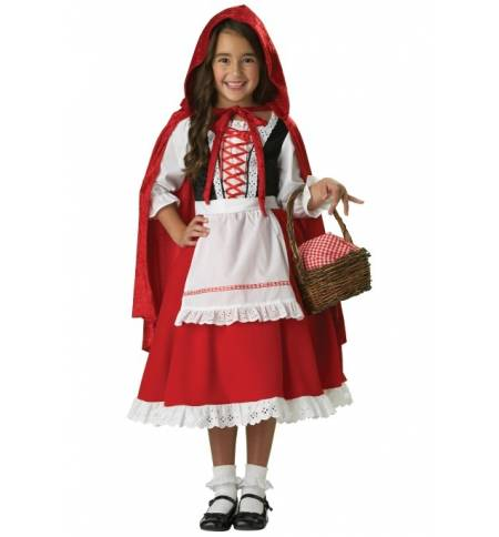 carnival halloween costume kids little red riding hood 1 8 years
