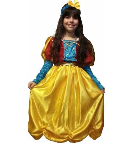 carnival halloween costume kids little snow white 2 10 years old