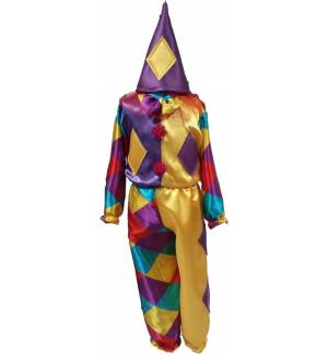 Carnival Halloween Costume kids Clown 1-6 years Old MARK523