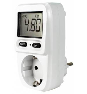 EU Plug 230V EcoSavers Energy Meter Mini Check Devices Power Consumption