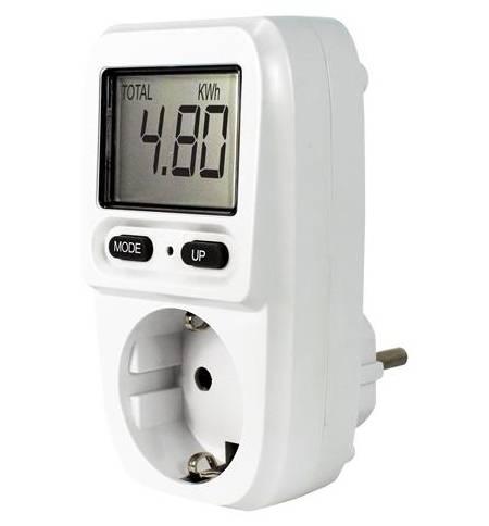 EcoSavers Energy Meter Mini Μετρητής Ενέργειας Πρίζας Κατανάλωσης Συσκευών