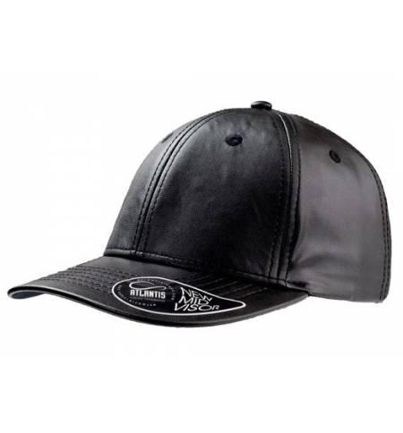 Atlantis 879 Lewis Εξάφυλλο καπέλο τζόκεϊ  100% pu δέρμα
