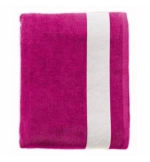BEACH BICOULOURED BIG TOWEL SOL'S LAGOON 89006 VELVET COTTON sof