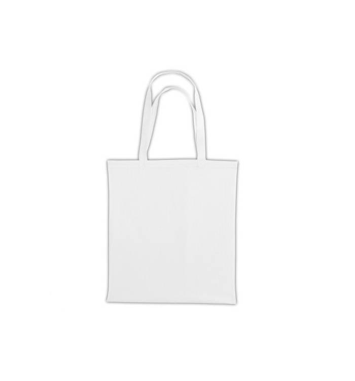 UBAG Cancun Τσάντα αγοράς 42x38cm 100% βαμβάκι με μακριά χερούλια - WHITE 377e7eef31a
