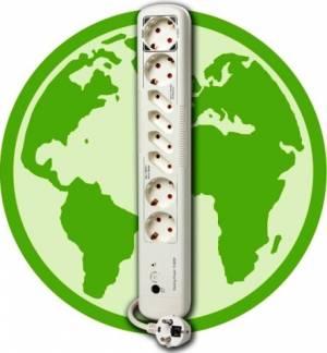 Αυτόματο Πολύπριζο PC Go Green Standbykiller Multiple Socket