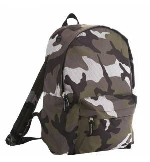 Sol's Rider CAMO - 70100 Backpack 100% Polyester 600 D