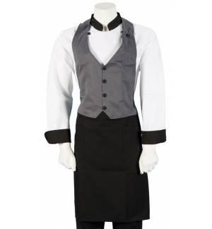 Apron - Vest for Waiter, material 240gr 65p / 35c xxs-3xl MARK712
