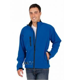 MEN'S SOFT-SHELL ZIPPED JACKET SOL'S RELAX SOFTSHELL