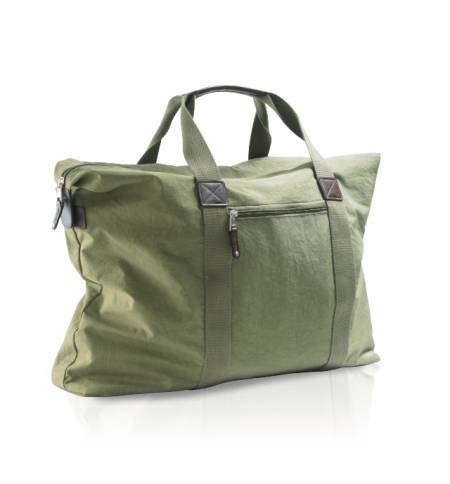 WEEKEND TRAVEL BAG IN CRINKLE 420D NYLON SOL'S CORDOBA