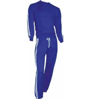 155 Training set with two stripes adult 50% cotton - 50% polyester 270gr S-XXL