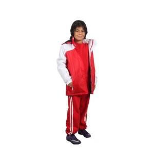 215 Αθλητικό αδιάβροχο μπουφάν παιδικό 100% πολυέστερ