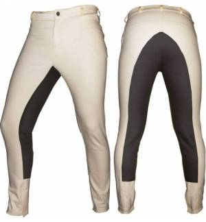 Ivory Br Dressage Horse Riding Pants Full Seat Breeches