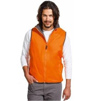 SOL'S WINNER 44001 UNISEX CONTRASTED REVERSIBLE BODY WARMER VEST