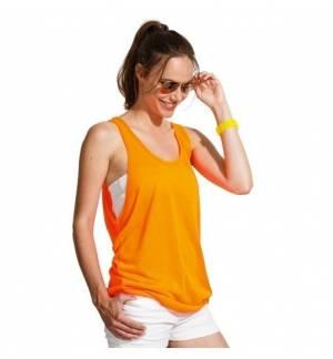 Sol's Jamaica 01223 Unisex Sleeveless T-Shirt Jersey 120 gr. - 100% polyester