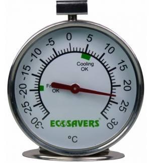 Fridge / Freezer Thermometer Stainless Steel