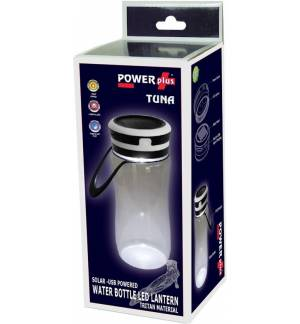POWERplus Tuna Solar USB WATER BOTTLE LED LANTERN Tritan Material