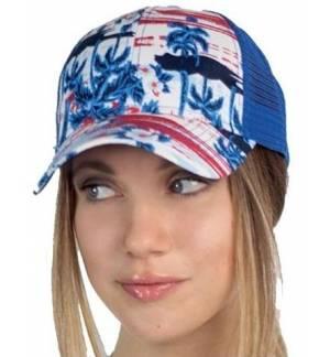 Mesh Fantasy καπέλο 866 Εξάφυλλο καπέλο τζόκεϊ 100% Polyester 9 χρώματα