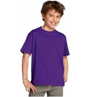 REGENT KID'S 11970 ROUND COLLAR T-SHIRT cotton size new m sz nwt