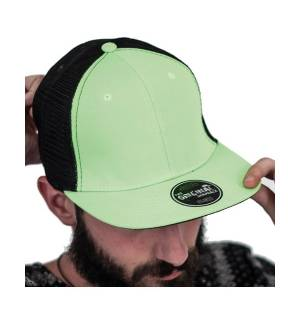 Atlantis 846 Snap Mesh εξάφυλλο καπέλο τζόκεϋ 100% Πολυεστέρας