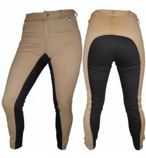 Μπεζ με καφε Παντελόνι Ιππασίας & Dressage - Κυλοτίνα Full Seat Breeche