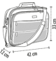 ΤΣΑΝΤΑ ΥΠΟΛΟΓΙΣΤΗ ΑΠΟ ΠΟΛΥΕΣΤΕΡΑ 1680D SOL'S TRANSIT - 71130