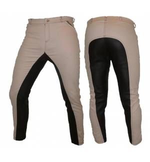 Somon with Synthetic Leather Dressage & Horse Riding Pants Full Seat