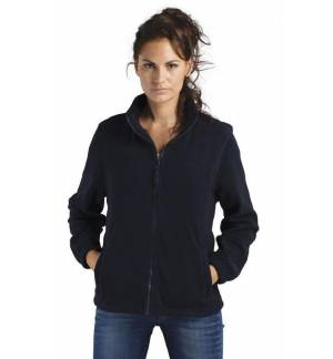 SOL'S NORTH WOMEN 54500 WOMEN'S FLEECE JACKET WITH ZIP black wom