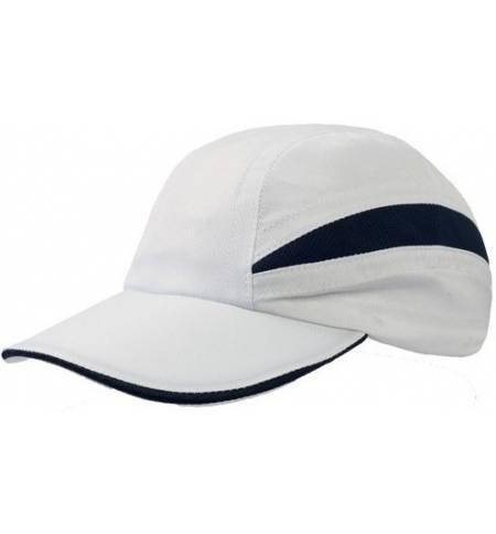 Atlantis Performer Πεντάφυλλο αθλητικό καπέλο διαπνέον ύφασμα 100% Πολυεστέρας Δίχτυ στο πλάι