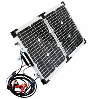 POWERplus Python Φορητό Ηλιακό Πάνελ Μονοκρυσταλλικό 2 x 20W με ελεγκτή φόρτισης