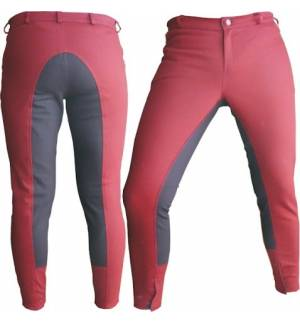 Bordeaux Dressage & Horse Riding Pants Full Seat Breeches