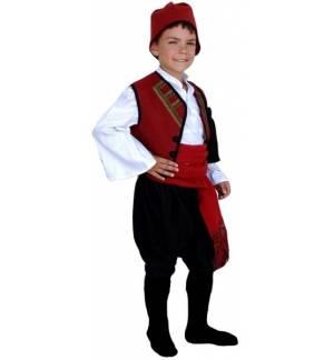 Greek Traditional Costume Nisiotis 6-12 years old islander MARK6