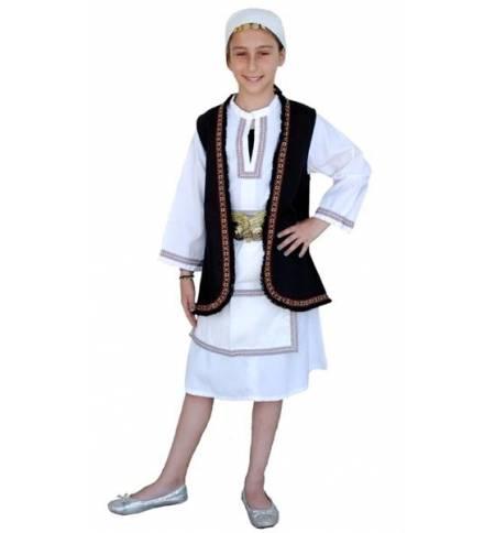 Παραδοσιακή Στολή Σουλιώτισσα μεγέθη 2-12 ετών Φορεσιά MARK633