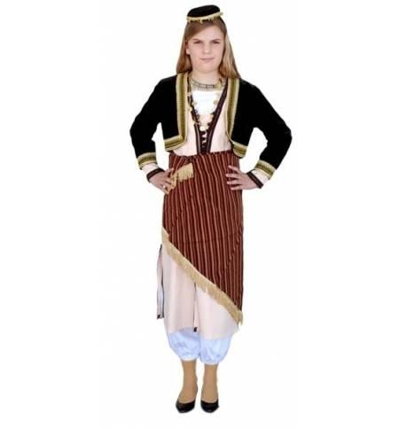 Παραδοσιακή Στολή Πόντια Χρυσαφί 6-12 Ετών MARK754