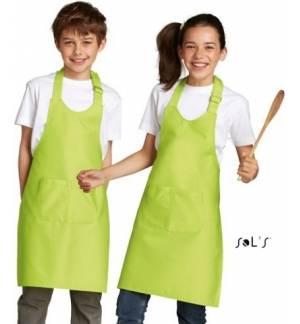 Sol's Gala Kids 00599 Παιδική ποδιά με τσέπες Σε 4 Χρώματα