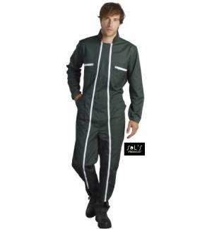 UNISEX WORKWEAR OVERALL WITH DOUBLE ZIP JUPITER PRO