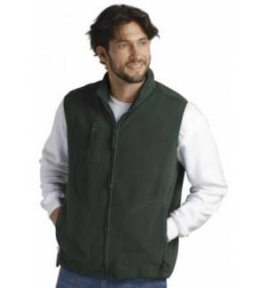SOL'S NORWAY 51000 UNISEX SLEEVELESS CARDIGAN FLEECE VEST top mo