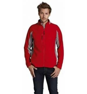 SOL'S NORDIC 55500 MEN'S 2 COLOUR ZIPPED JACKET WARMER FLEECES m