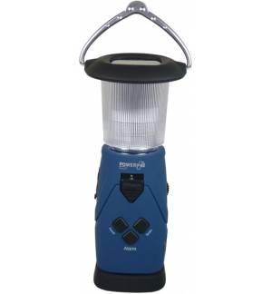 Led Lantern FM Scan Radio Powerbank Charger Alarm DYNAMO SOLAR U