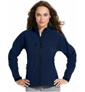 WOMEN'S SOFT-SHELL ZIPPED JACKET SOL'S ROXY SOFTSHELL