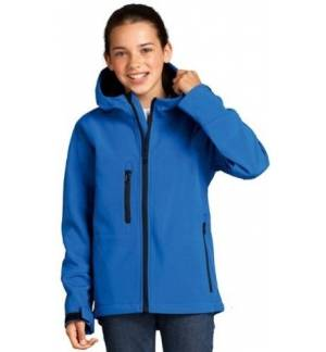 Children Kids HOODED SOFTSHELL Coat Jacket Puffer 6-12y