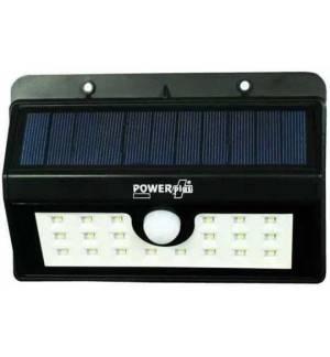 POWERplus Boa ηλιακό USB Led με Αισθητήρα κίνησης & ημέρας εξωτερικού χώρου 3 δυνατότητες φωτισμού